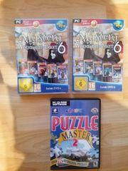 3 verschiedene PC Spiele