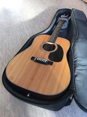 Guitar mit Tragetasche