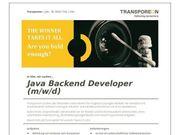 Java Backend Developer m w