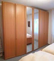 Komplettes Schlafzimmer - hochwertig - Echtholzfurnier
