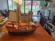 Playmobil Ritterburg Schiff und viele