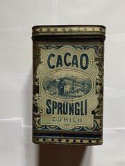 Blechdose Cacao Sprüngli