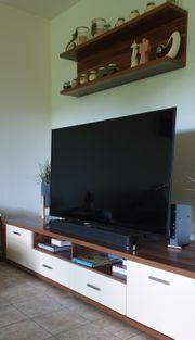 Wohnwand mit Sideboard