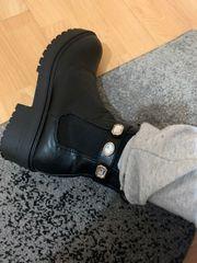 getragene Socken u Fu b