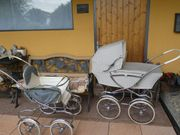 Kinderwagen-Set alt 60er