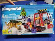 Playmobil Dino-Transporter Winter Eiszeit