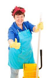 Reinigungshilfen für kleines Ferienhaus