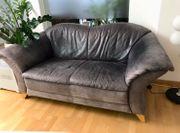Couch aus Echt Leder