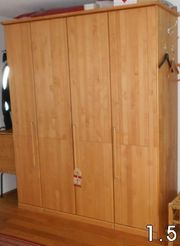SUCHE Erle-massiv-geölt Schlafzimmermöbel
