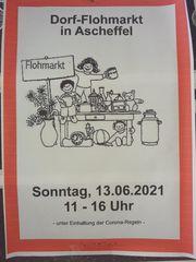 Dorfflohmarkt Flohmarkt Dorffest Kinderachen Antikes
