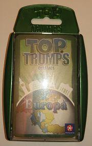 EUROPA-Quartett Top Trumps Classics