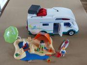 Playmobil Wohnmobil und Badestrand