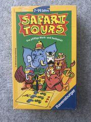 Safari Tours Gesellschaftsspiel Ravensburger