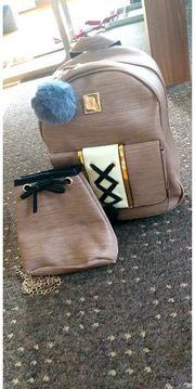 Taschenset Rucksack und Tasche
