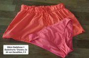 Badeshorts und Bikini-Badehose Gr 44