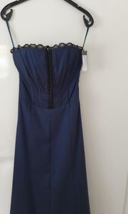 Kleid blau Abendkleid Ballkleid