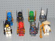 8 Minifiguren Ninjago Nya Sensei