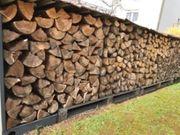 Brennholz Kiefer Fichte Stammholz