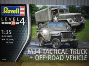 Revell M34 Tactical Truck Off-Road