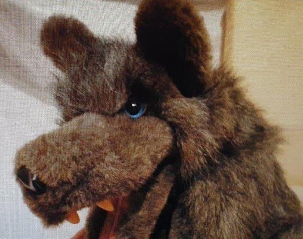 Suche Wolf Handpuppe von Folkmanis