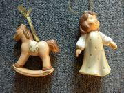 Goebel Figuren - Christkind Schaukelpferd