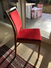 5 Stühle aus Eiche