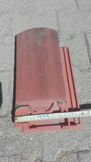 Biberschwanz Dachziegel mit seitlichem Doppelfalz