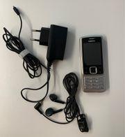 Nokia 6300 silber schwarz mit
