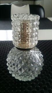 Glas - Parfümzerstäuber mit Deckel