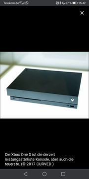 X BOX ONE X 1TB