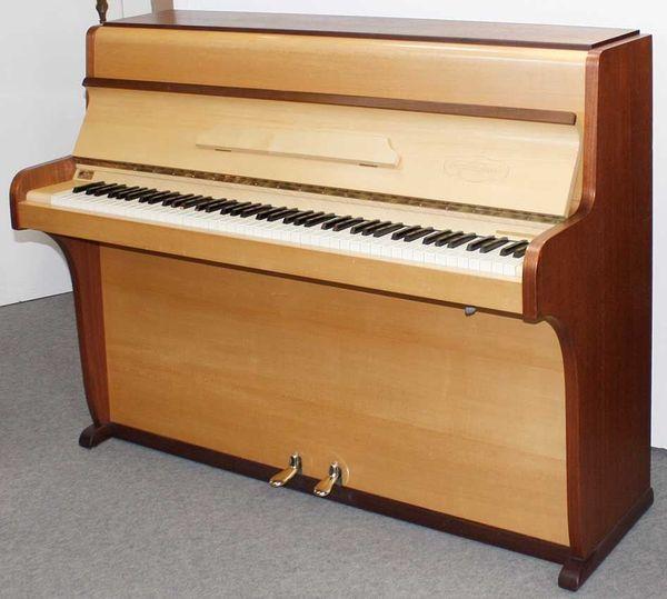 Klavier Burger Jacobi Teak Ahorn
