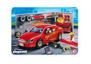Playmobil-Set PKW- Autotuning- und Motorradwerkstatt
