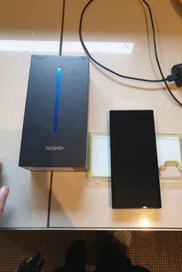 Samsung Note 10 Plus und ovp und Rechnung