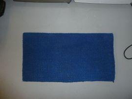 Verkaufe Western-Blanket in blau
