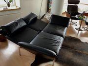 Brühl RoRo 2-Sitzer Leder schwarz