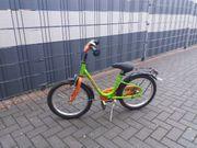 PEGASUS Kinderfahrrad 16 Zoll grün-orange
