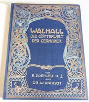 Anitquarisches Original WALHALLA DIE GÖTTERWELT