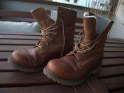 Timberland Roll-Top Winterstiefel Leder - Größe