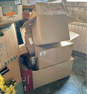 Kartons Umzug Umzugskartons Verpackung Paket