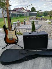 E-Gitarre Vision mit Weinberger Verstärker