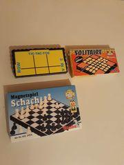 Spiele Reise Magnet Schach Solitair
