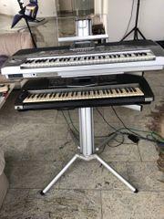 Keyboardständer von König und Meyer