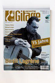 Akustik Gitarre Jahrgang 2010 komplett