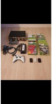 Xbox 360 inkl Zubehör