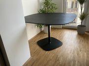 Schwarzer Tisch Marke Walter Knoll