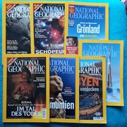 NATIONAL GEOGRAPHIC 7 Hefte