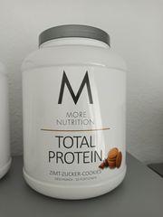 Total Protein Zucker Zimt Cookies