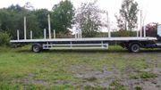 18 Tonnen Auflieger ohne Aufbau