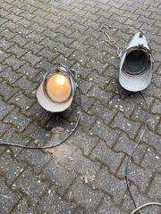 2 Stadionlampen Scheinwerfer Strahler Flutlicht