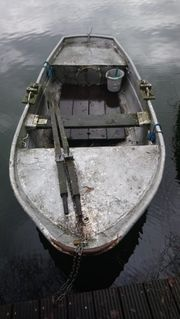 Stahl Boot für Angler